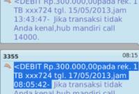 Begini Cara Transfer SMS Banking ke Sesama Mandiri