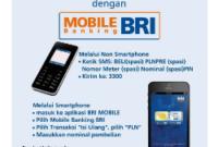 Cara Isi Ulang Pulsa Lewat SMS Banking BRI