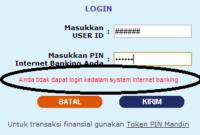 M Banking Mandiri Terblokir Mungkin Ini Penyebabnya