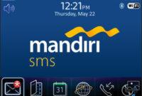 Mandiri SMS Banking Isi Pulsa Begini Tata Cara Dan Panduannya