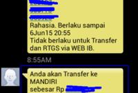 Contoh Cara Menggunakan SMS Banking BRI Panduan Pemula