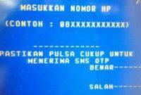 Cara Daftar SMS Banking BRI di Mesin ATM Lengkap