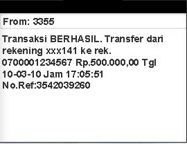 Mengapa SMS Banking Mandiri Transaksi Ditolak Layanan Untuk Sementara Tidak Tersedia