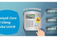 Cara mengisi pulsa melalui M-Banking BCA