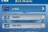 Pengisian Pulsa Token Listrik Melalui M Banking BCA