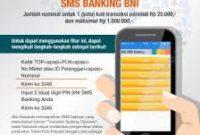 Format Terbaru SMS Banking BNI Pembayaran Listrik