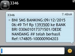 Apakah SMS Banking BNI Bisa Melakukan Transfer Ke Bank Lain