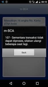 BCA Mobile Error 101 Ketahui Masalah dan Penyebabnya