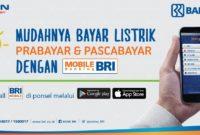 Begini Tahapan Beli Token Listrik Via Internet Banking BRI