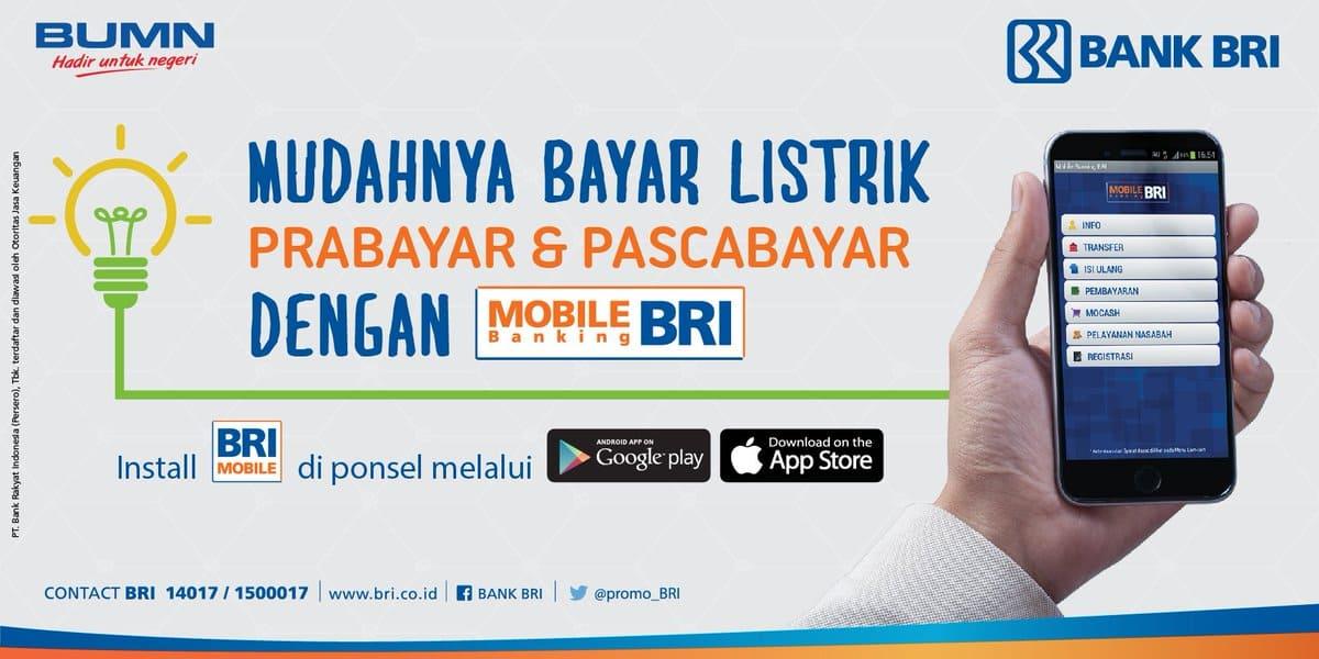 Begini Tahapan Beli Token Listrik Via Internet Banking BRI ...