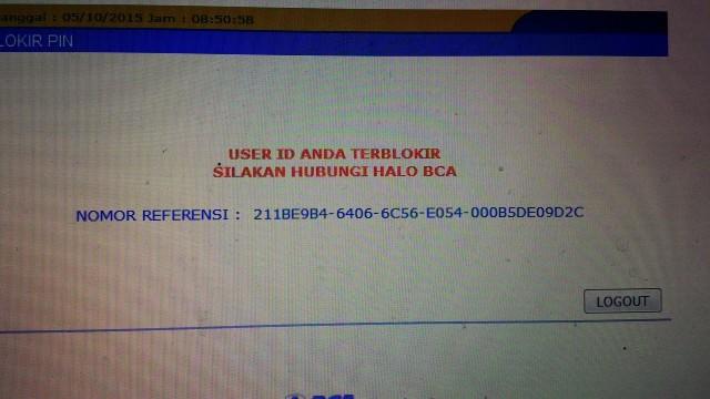Jika SMS Banking Terblokir Apakah ATM Juga Terblokir